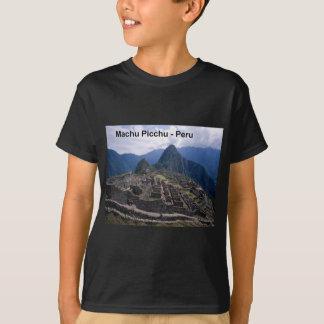 Peru The Ruins of Machu Picchu (St.K.) T-Shirt