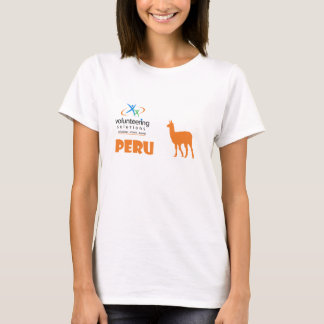 Peru Volunteer T-shirt - Volunteering Solutions