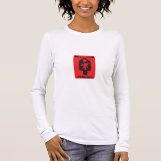 Perugia Ladies Long Sleeve (Fitted) Long Sleeve T-Shirt