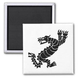 Peruvian Dragon Magnet