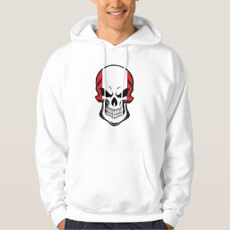Peruvian Flag Skull Hoodie