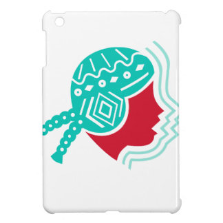 Peruvian Girl Hat Side Icon Cover For The iPad Mini
