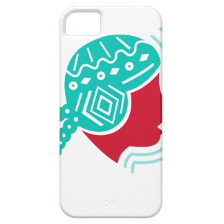 Peruvian Girl Hat Side Icon iPhone 5 Cover
