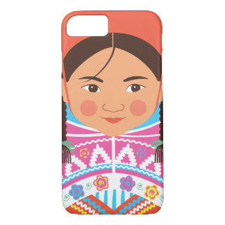 Peruvian Girl Matryoshka Case