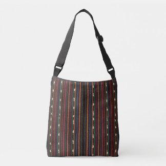 Peruvian Inca Weaving Design Stripes Crossbody Bag