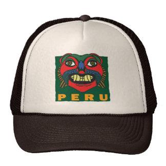 PERUVIAN  MASK MESH HAT