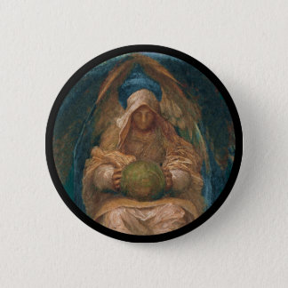 Pervading Spirit Angel 6 Cm Round Badge