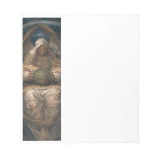 Pervading Spirit Angel Notepad