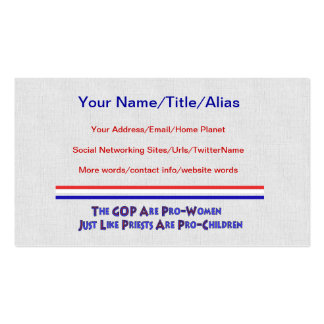 PERVERT CLUB PACK OF STANDARD BUSINESS CARDS