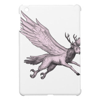 Peryton Flying Side Tattoo iPad Mini Case