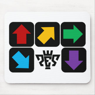 PES Form Arrows Mouse Pad