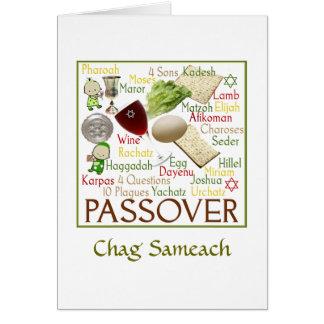Pesach Symbols Card