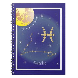 Peschs 19 more favrer fin 20 Mars note booklet Spiral Notebook
