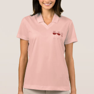 Pessimist, optimist, realist polo shirt