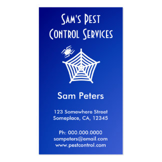 Pest Control Business Card Business Card Templates