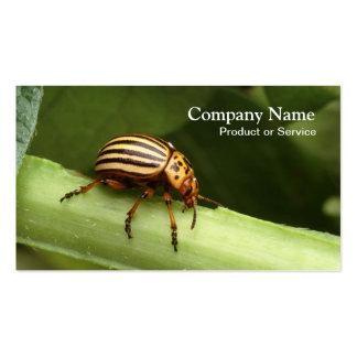 Pest control business card