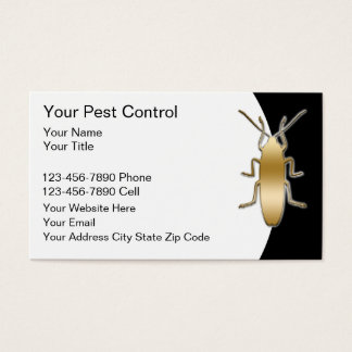 Pest Control Business Cards