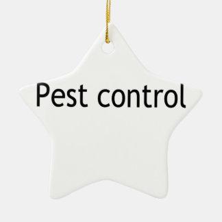 Pest control ceramic star decoration