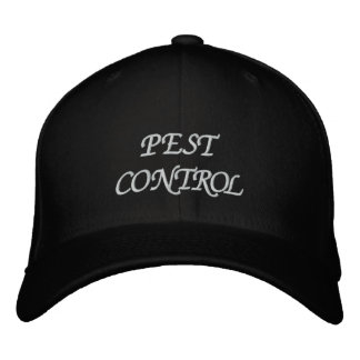 PEST CONTROL EMBROIDERED HATS