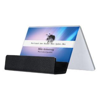 Pest Control Exterminator Ant Desk Business Card Holder