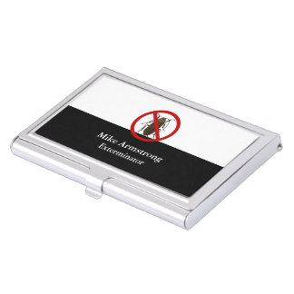 Pest Control Insect Bug Exterminator Business Card Holder