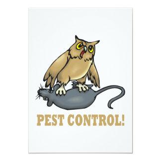 Pest Control 13 Cm X 18 Cm Invitation Card