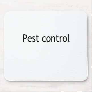 Pest control mouse pad