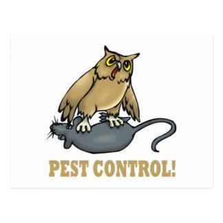 Pest Control Postcard