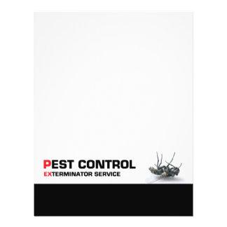 Pest control service 21.5 cm x 28 cm flyer