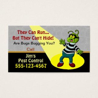 Pest Control Service Business Card