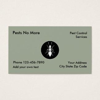Pest Control Services Business Card