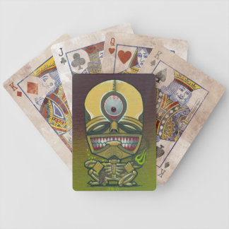 """pestilence"" bicycle poker cards"