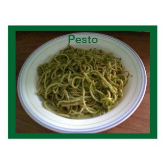 Pesto Recipe Postcards