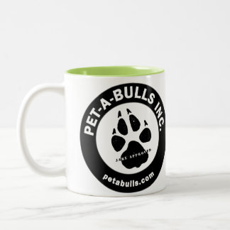 Pet-A-Bulls Two-Tone Coffee Cup Two-Tone Mug
