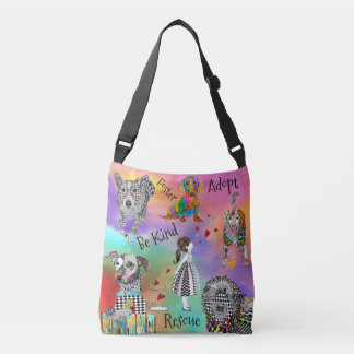 Pet Adoption Cross Body Tote