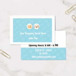 Pet-Based Business Cards