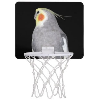 Pet Bird Cockatiel Photo Mini Basketball Hoop