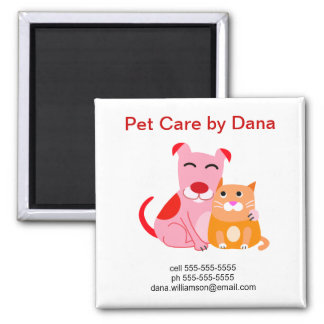 Pet Business Promotional Magnet
