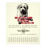 Pet Business Tear Sheet Flyer - Personalise