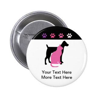 Pet Care Business Buttons