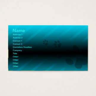 Pet Care Business Card