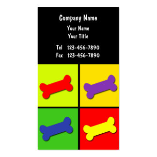 Pet Care Business Card_10 Double-Sided Standard Business Cards (Pack Of 100)