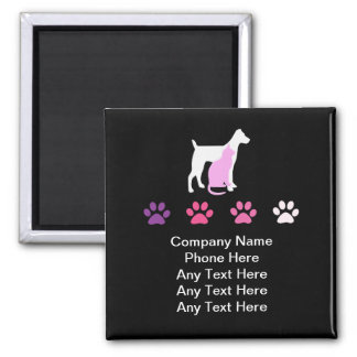 Pet Care Business Magnets