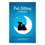 Pet Care / Pet Sitting business flyer