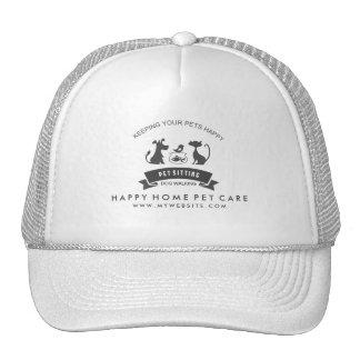 Pet Care & Sitting Custom Business Logo Hat