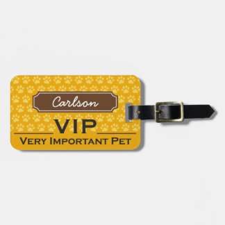 Pet Carrier Name Tag
