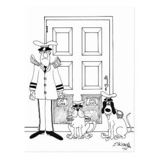 Pet Cartoon 4846 Postcard