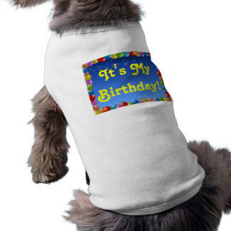 Pet Clothing It's My Birthday