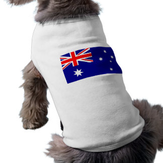 Pet Clothing with Flag of Australia