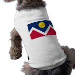 Pet Clothing with Flag of Denver, Colorado